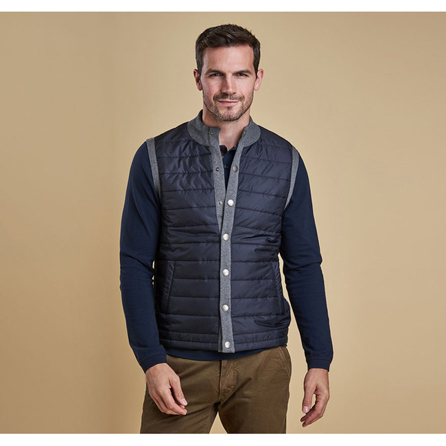 Barbour Men ESSENTIAL GILET Mid Grey Sale