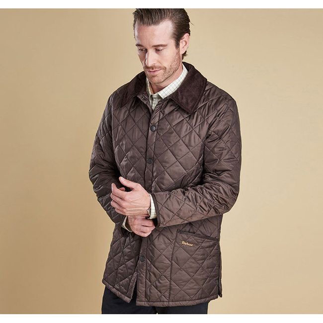 Barbour Men LIDDESDALE QUILTED JACKET Rustic Sale