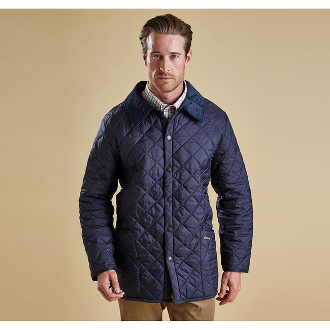 Barbour Men LIDDESDALE QUILTED JACKET Navy Sale
