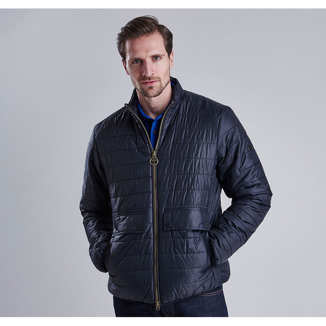 Barbour Men B.INTL CROSSOVER QUILTED JACKET Black Sale