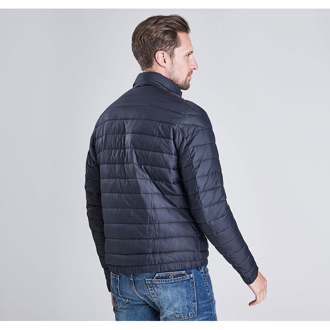 Barbour Men B.INTL CHAIN BAFFLE QUILTED JACKET Black Sale