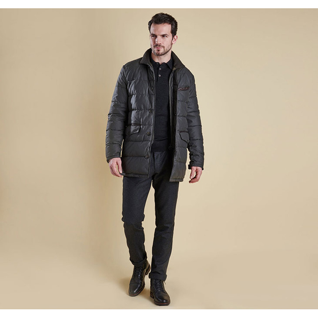 Barbour Men OPERATIVE QUILTED JACKET Olive Sale