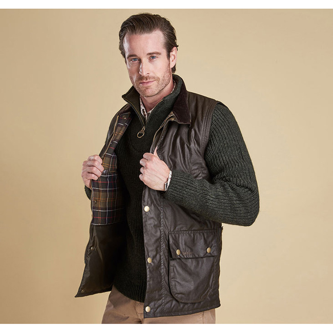 Barbour Men NEW WESTMORLAND BODY WARMER Olive Sale
