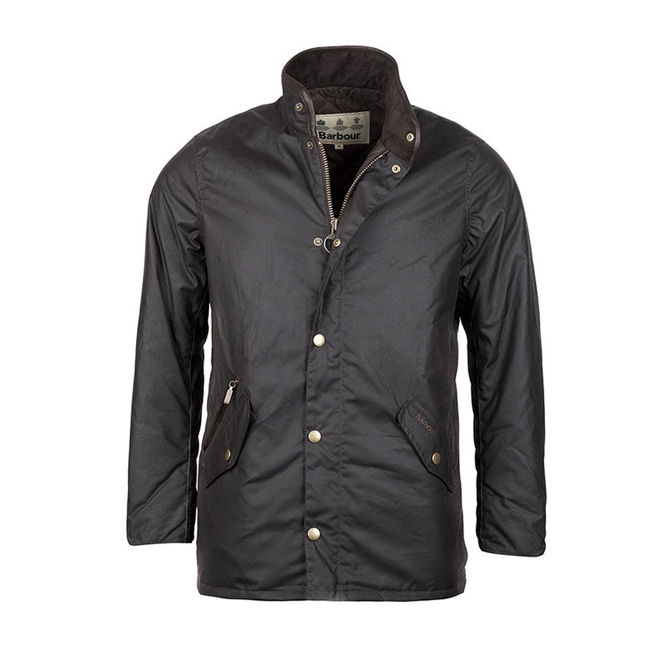Barbour Men PRESTBURY WAX JACKET Rustic Sale