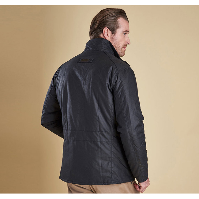 Barbour Men WINTER UTILITY WAX JACKET Navy Sale