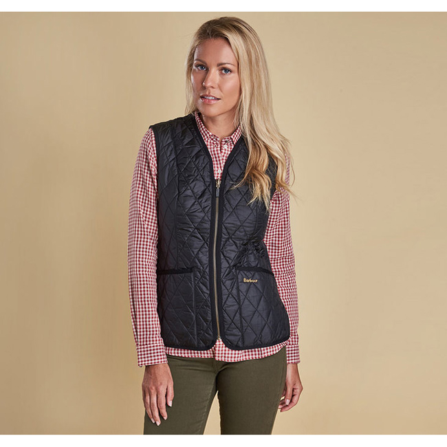 Barbour Women BETTY INTERACTIVE LINER Black Sale