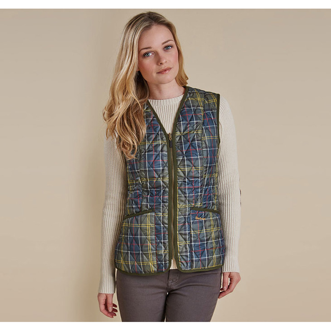 Barbour Women TARTAN BETTY LINER Classic Sale