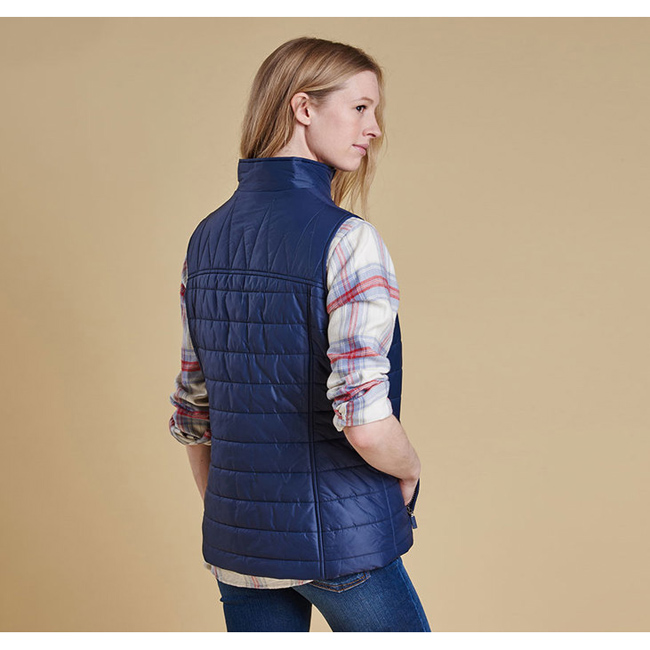 Barbour Women BRAE QUILTED GILET Royal Navy Sale