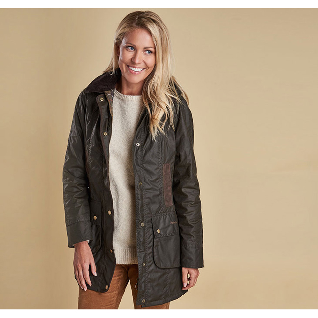 Barbour Women BOWER WAX JACKET Olive Sale