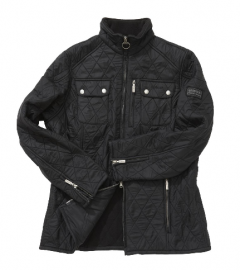Cheap Barbour Ladies International Trials Polarquilt Jacket Black