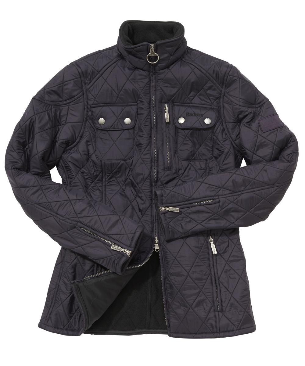 Cheap Barbour Ladies International Trials Polarquilt Jacket Purple