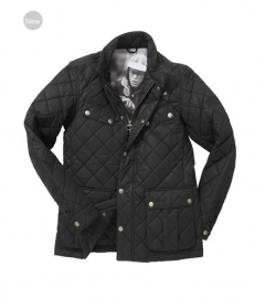 Barbour Mulholland Quilted Jacket Black Online