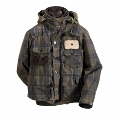 Barbour Tartan Spey Fishing Jacket In Discount
