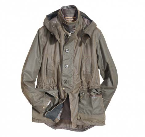 Barbour Shoreman Jacket Sage In Discount