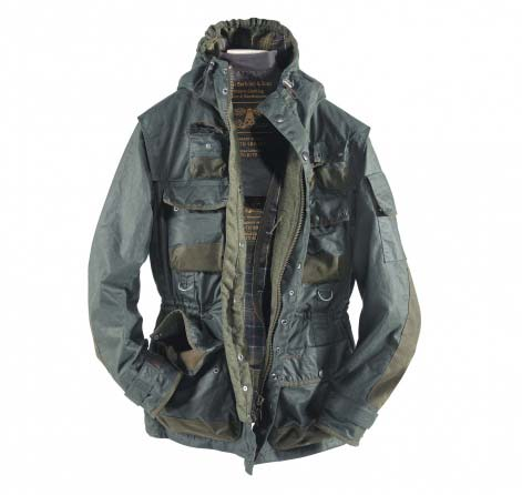 Barbour Military Jacket Sage In Discount