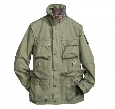 Barbour Field Jacket Olive In Discount