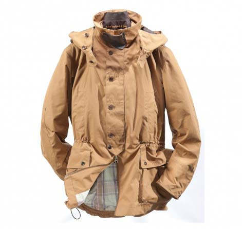 Barbour Shoreman Jacket Cinnamon In Discount