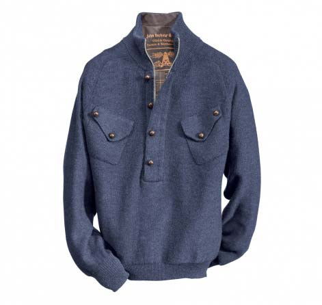 Barbour Firle Knit Navy In Discount