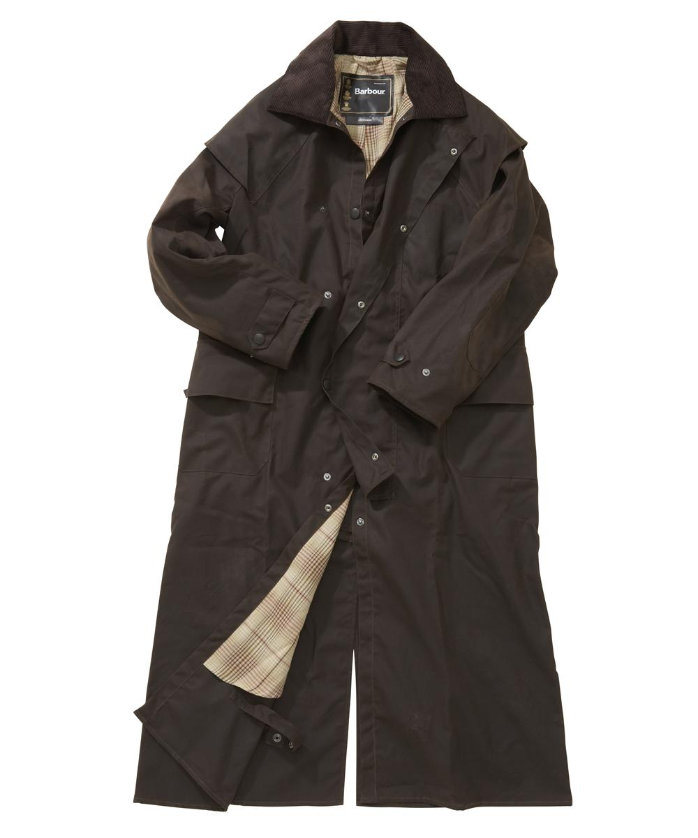 Barbour Stockman Coat- Brown | Red Heritage Check In Discount