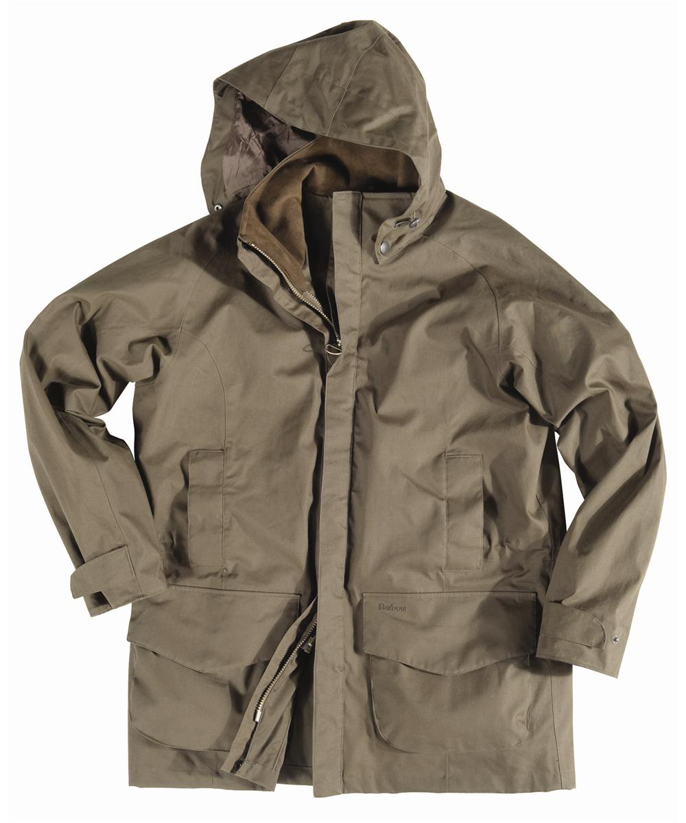 Barbour Mens New Crossfell Jacket- Brown In Discount