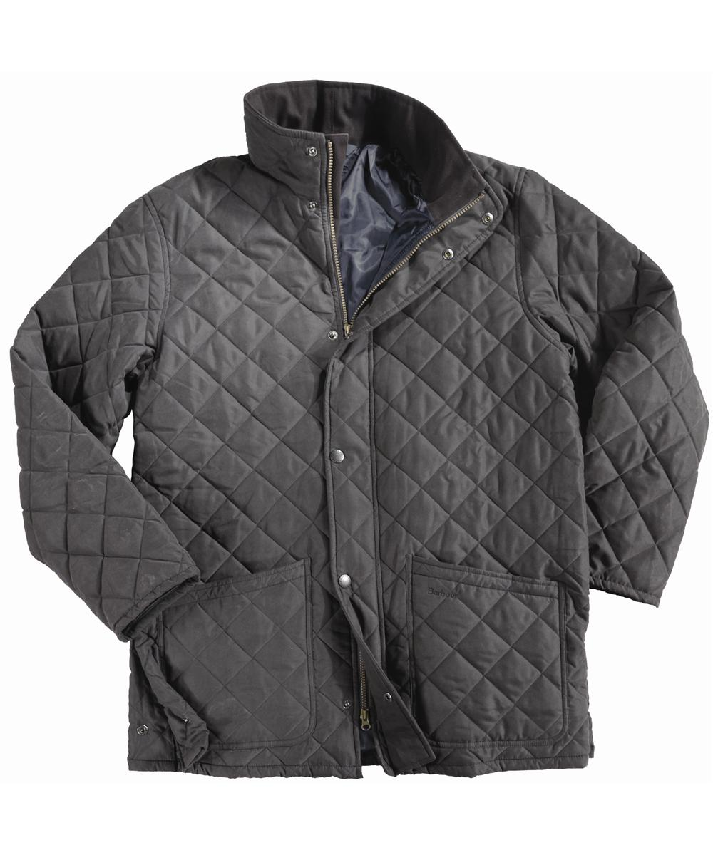 Barbour Hampton Quilt Jacket- Black In Discount