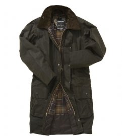 Barbour Classic Northumbria Jacket- Olive | Classic Tartan In Discount