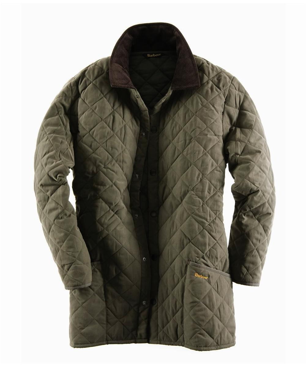 Mens Barbour Eskdale Jacket- Forest Green In Discount