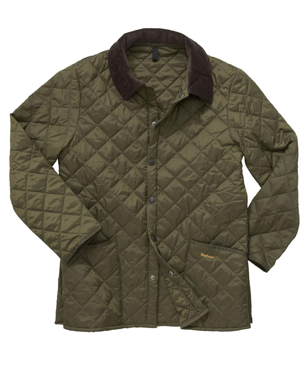 Barbour Liddesdale Quilted Jacket - Olive In Discount