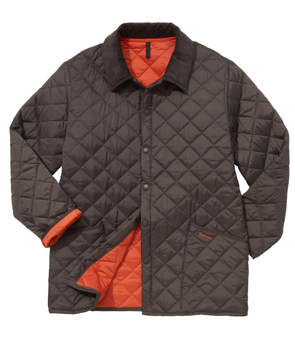 Barbour Liddesdale Jacket- Rustic | Orange In Discount