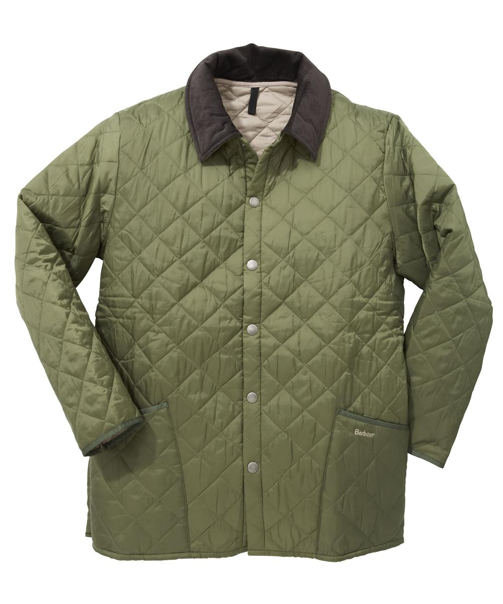 Barbour Liddesdale Jacket - Moss | Cement In Discount