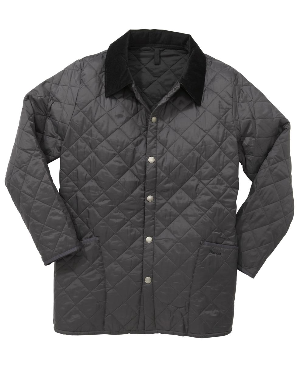 Barbour Liddesdale Jacket - Charcoal | Black In Discount