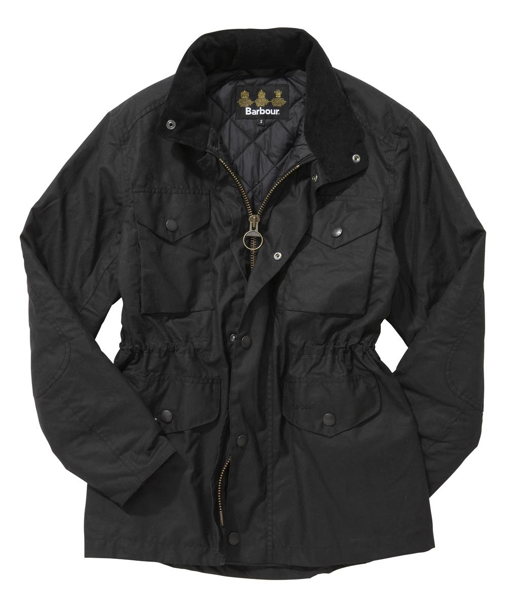 Barbour Sapper Jacket - Black In Discount