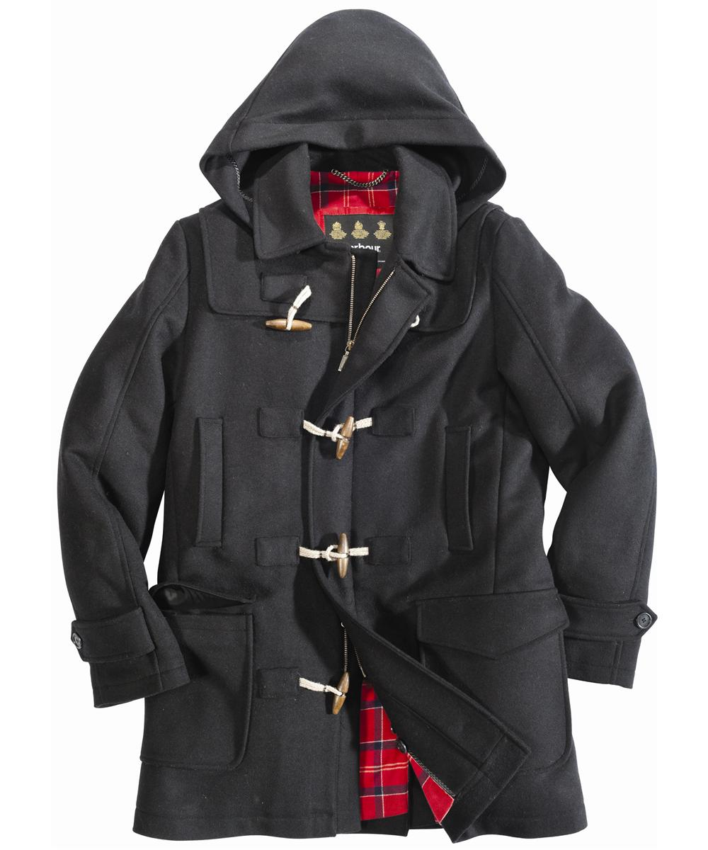 Mens Barbour Eastgate Coat Black In Discount