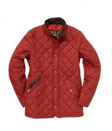 Barbour Chelsea Sportsquilt Jacket Red In Discount