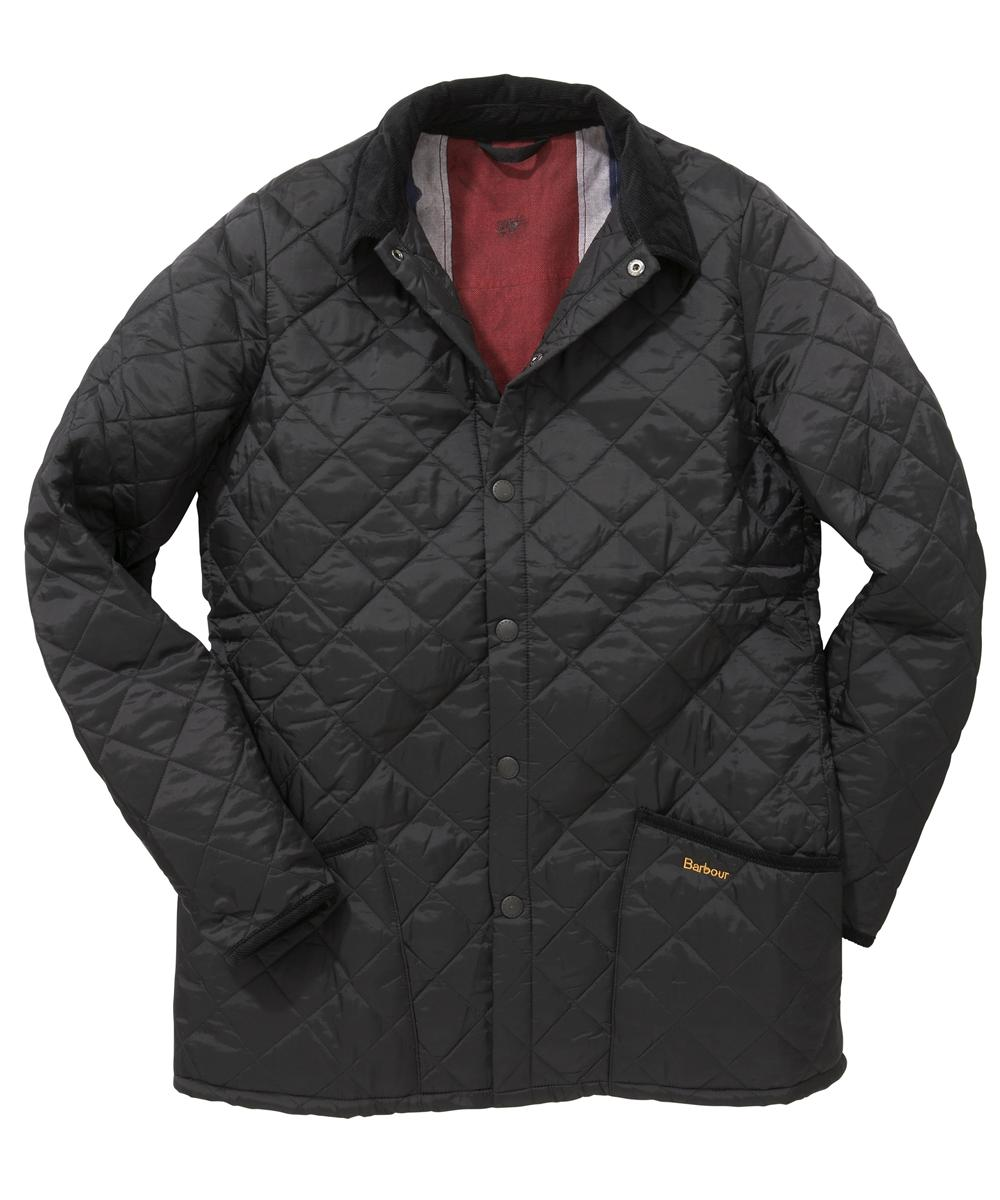 Mens Barbour Augustine Jacket Black In Discount