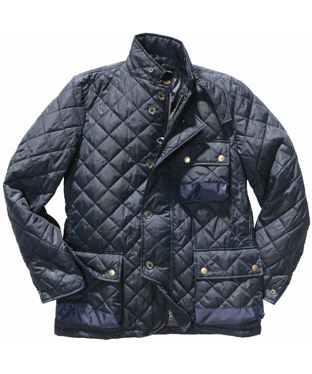 Mens Barbour Beall Jacket Navy In Discount