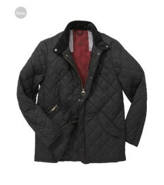 Men Barbour Moran Quilted Jacket Black In Discount