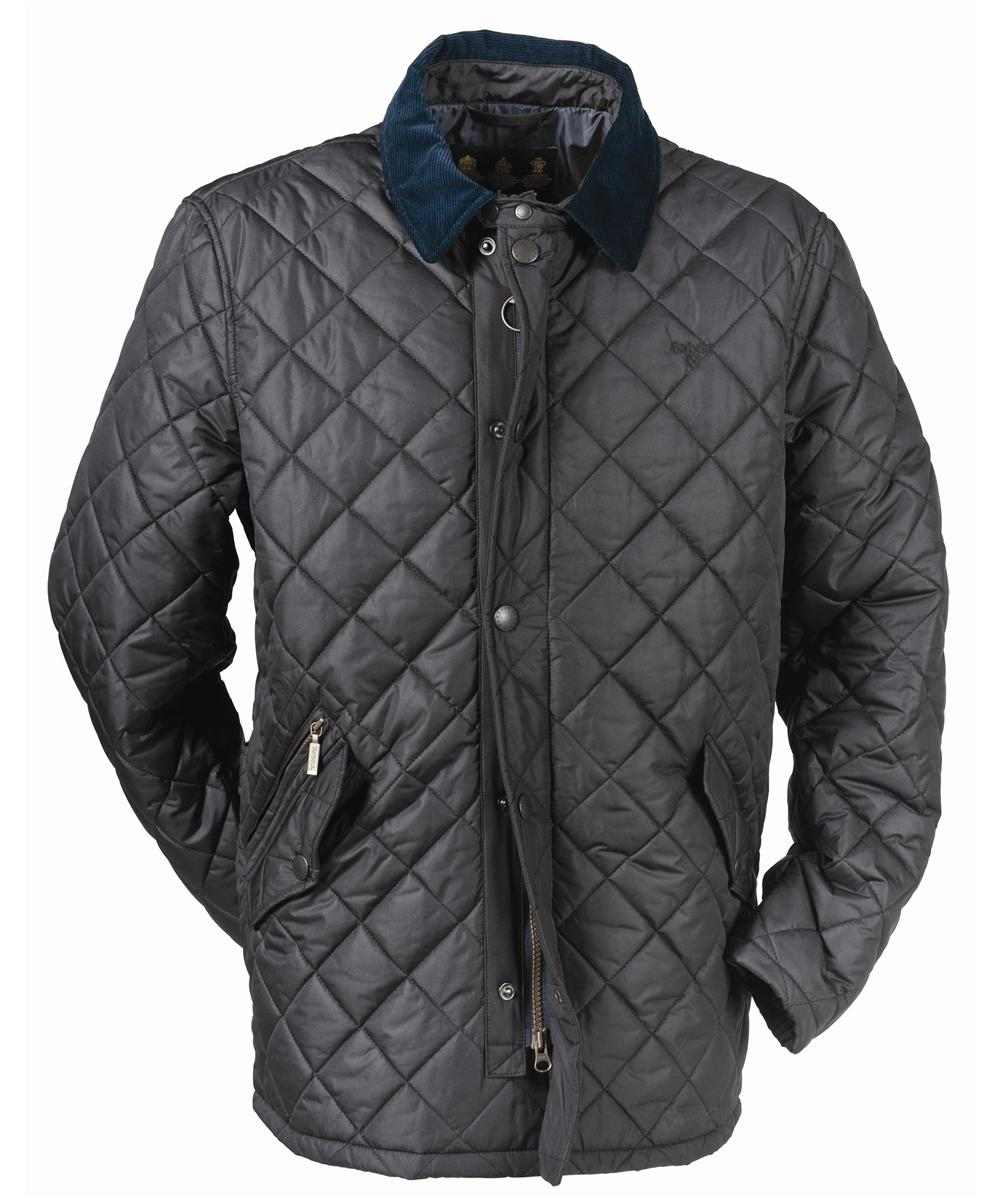 Barbour Putney Sportsquilt- Navy In Discount