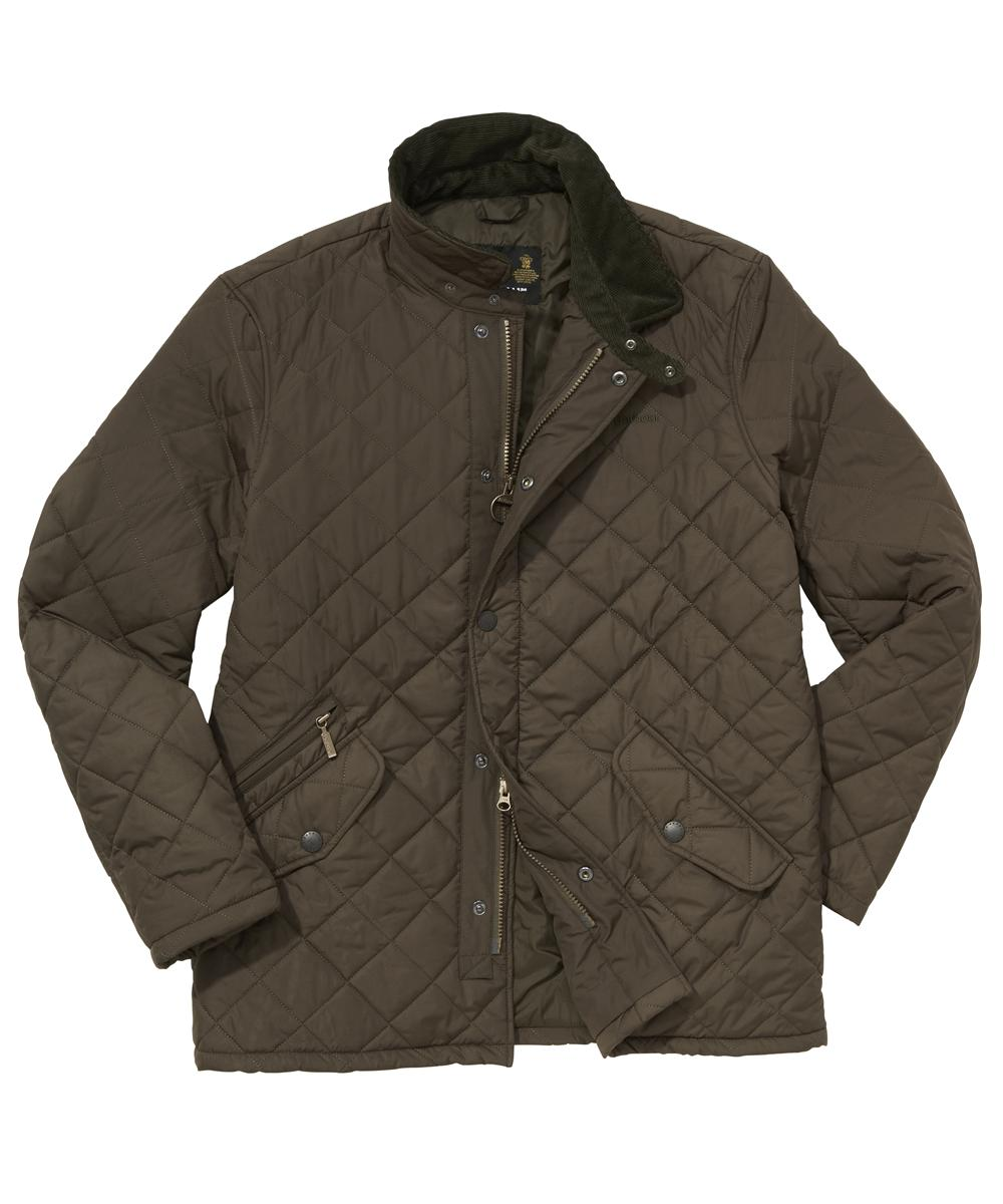 Barbour Putney Sportsquilt- Olive In Discount