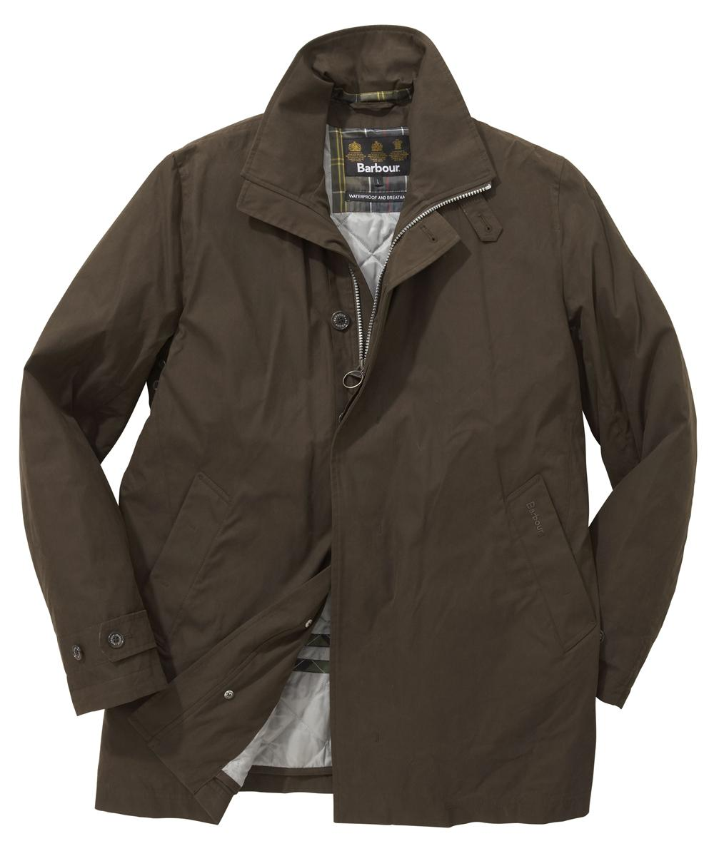 Mens Barbour Gloreston Waterproof Jacket - Olive In Discount
