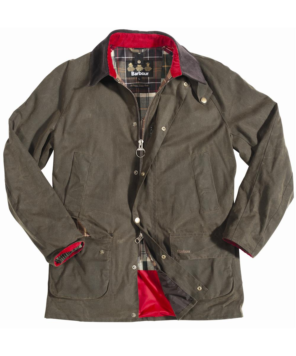 Mens Barbour Housesteads Waxed Jacket Olive In Discount