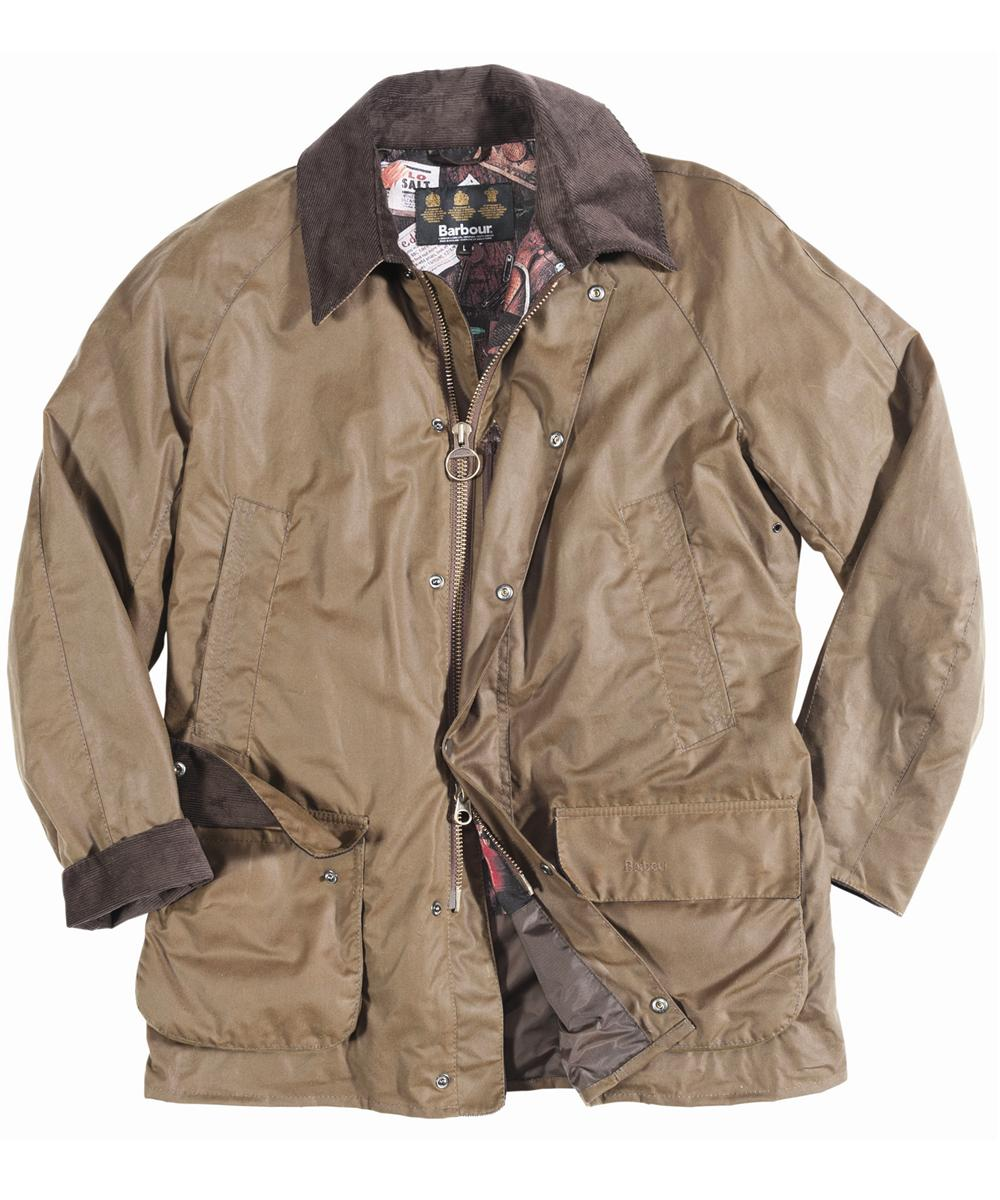 Mens Barbour Pendennis Waxed Jacket Brown In Discount