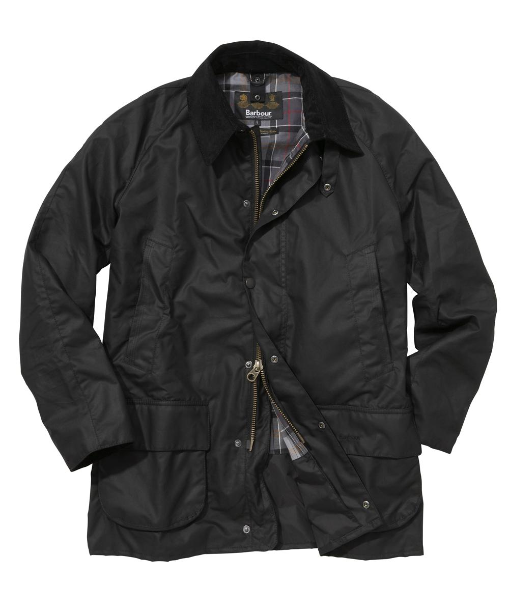 Barbour Bristol Jacket- Black | Modern Tartan In Discount