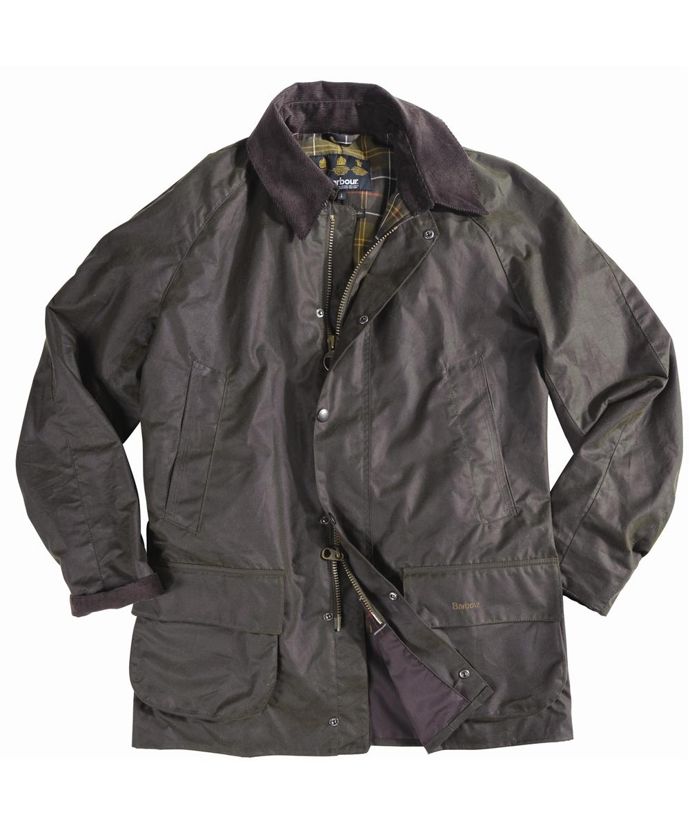 Barbour Bristol Jacket- Olive | Classic Tartan In Discount