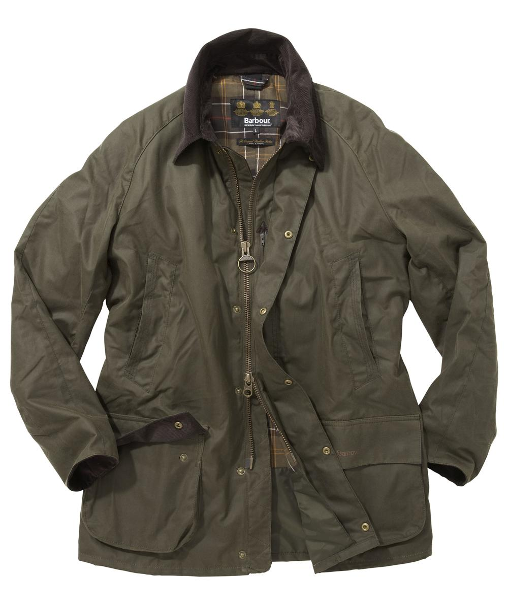 Barbour Bristol Jacket - Mid Olive | Classic Tartan In Discount