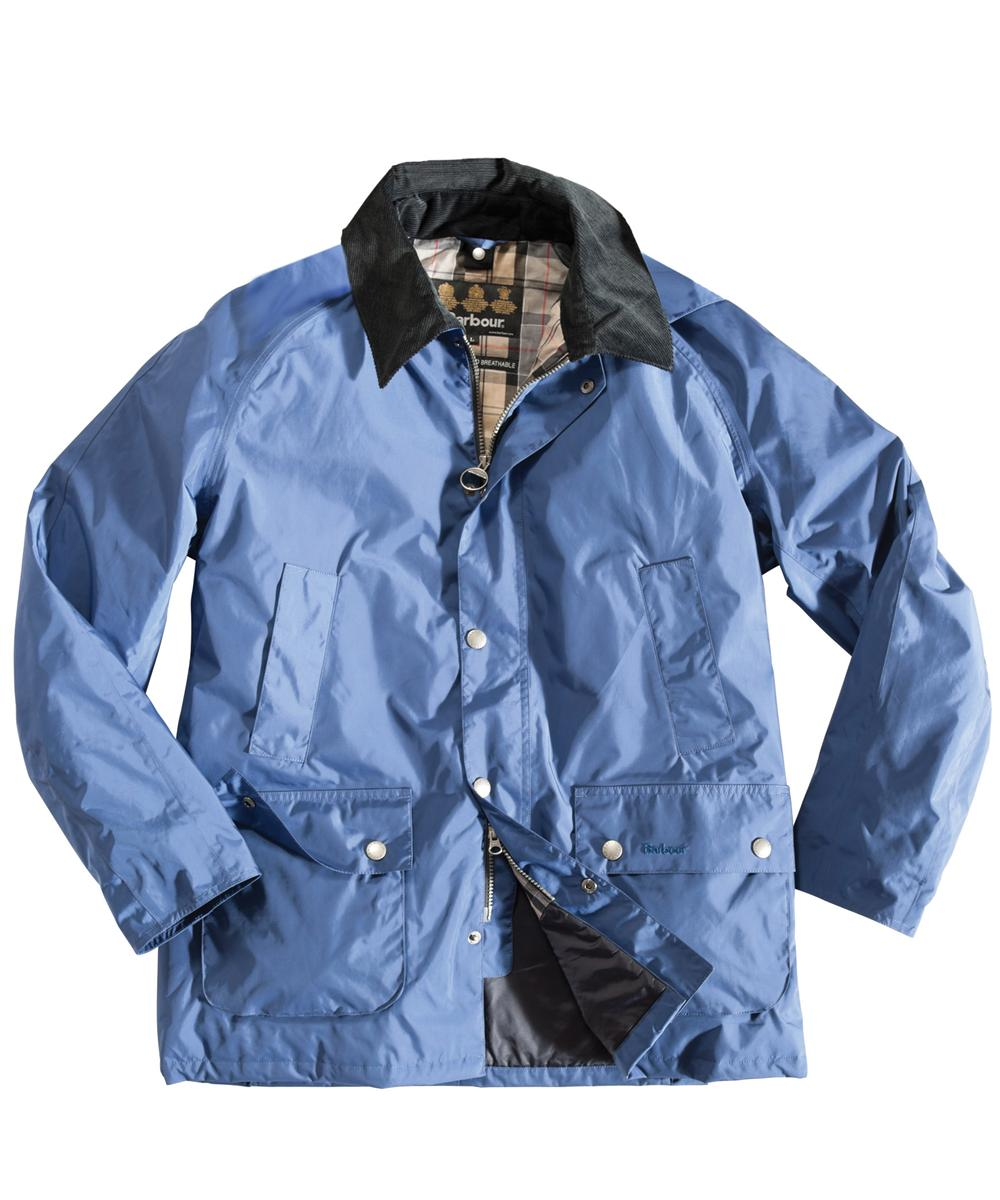 Mens Barbour Bayham Waterproof Jacket - Atlantic Blue In Discount