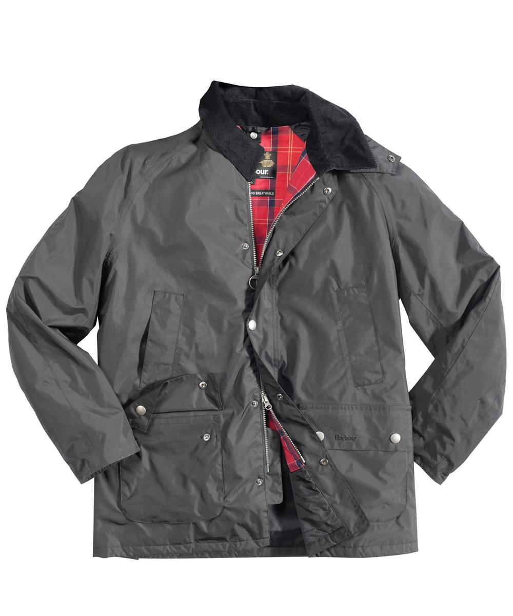 Mens Barbour Bayham Waterproof Jacket - Black In Discount