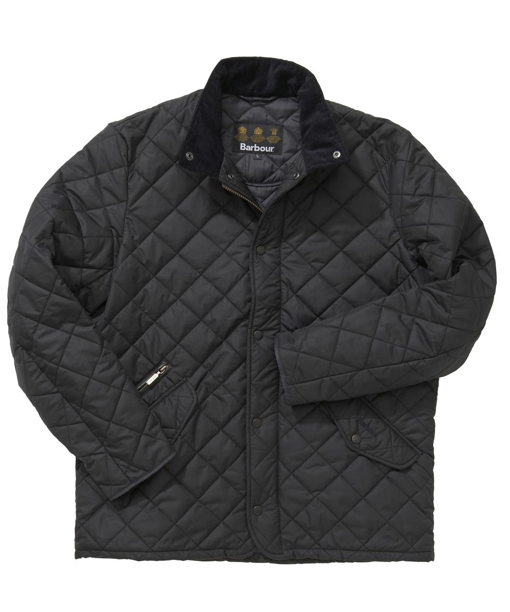 Barbour Chelsea Sportsquilt Jacket- Navy In Discount