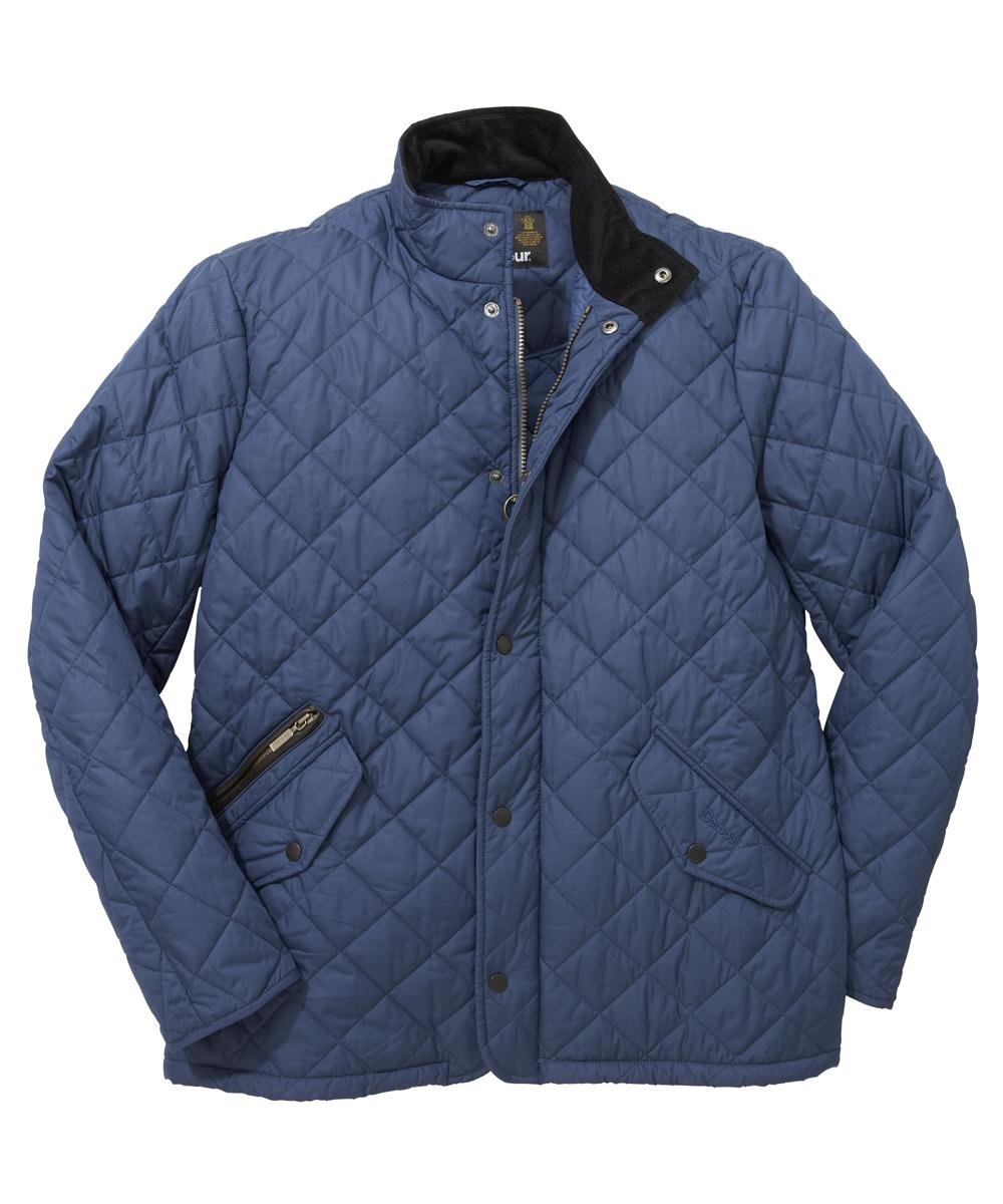 Barbour Chelsea Sportsquilt Jacket - Mid Blue In Discount