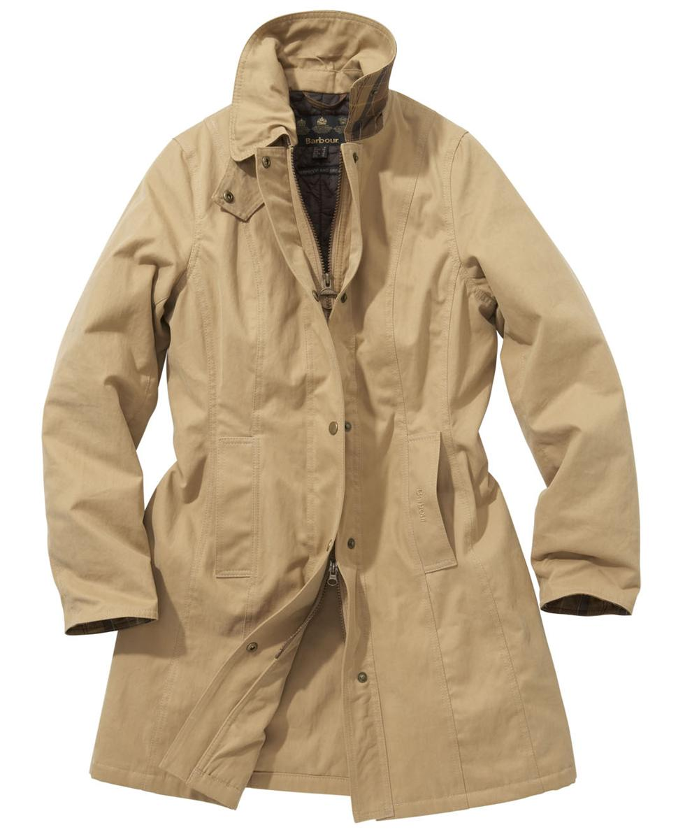 Barbour Winter Cotton Belsay Waterproof Jacket Sandstone Sale